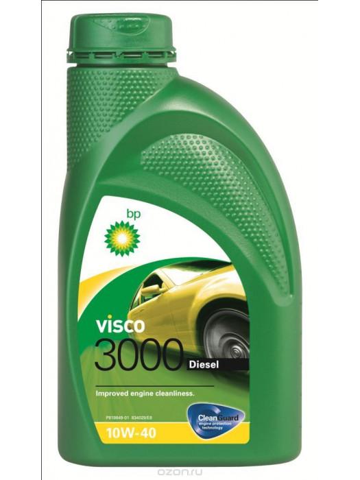 Полусинтетическое масло BP Visco 3000 Diesel 10W-40 1 л