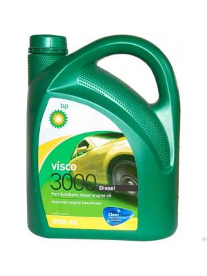 Полусинтетическое масло BP Visco 3000 Diesel 10W-40 4 л