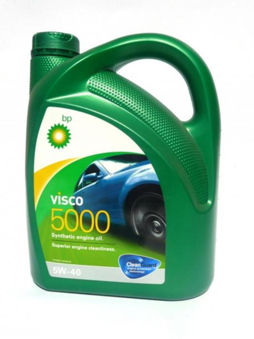 Синтетическое масло BP Visco 5000 5W-40 4 л