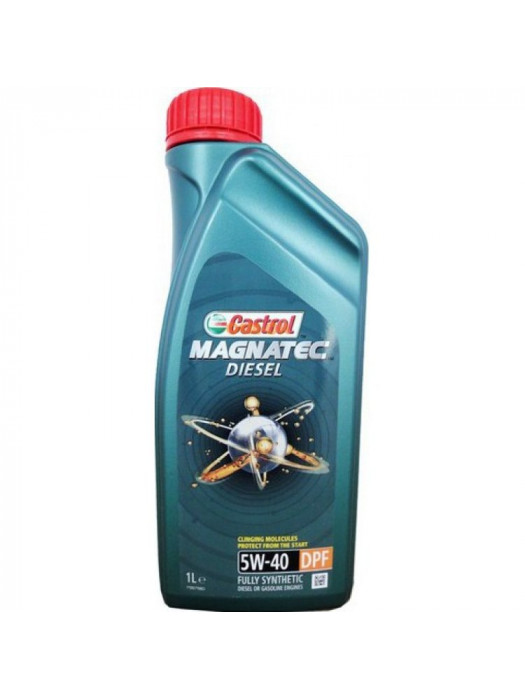 Синтетическое масло Castrol Magnatec Diesel 5W-40 DPF 1 л