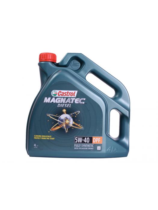 Синтетическое масло Castrol Magnatec Diesel 5W-40 DPF 4 л