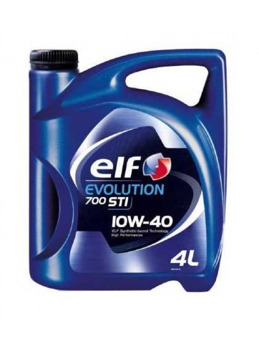 Полусинтетическое масло ELF Evolution 700 10w40, 4 л
