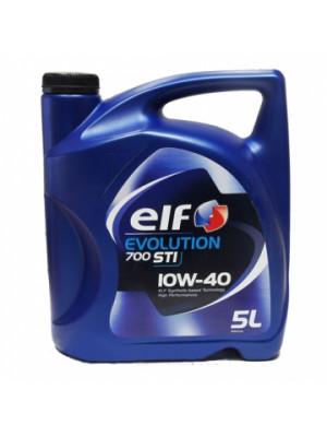 Полусинтетическое масло ELF Evolution 700 10w40, 5 л