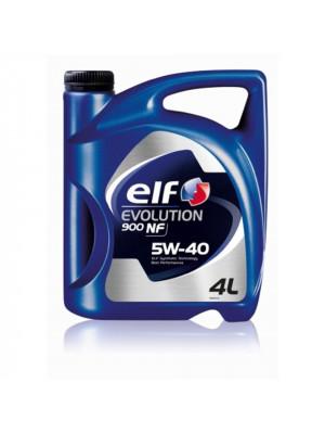Синтетическое масло ELF EVOLUTION 900 NF 5W-40 4 л