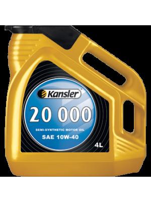 Полусинтетическое масло Kansler 20000 SAE 10W-40 SL/CF 4л