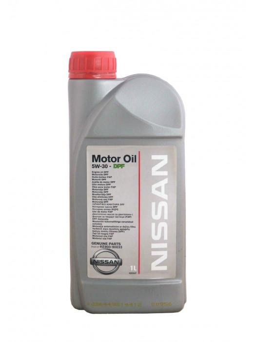Синтетическое масло Nissan 5W-30 DPF 1 л
