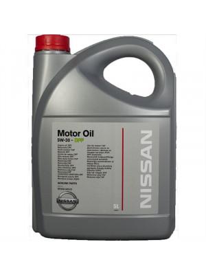 Синтетическое масло Nissan 5W-30 DPF 5 л