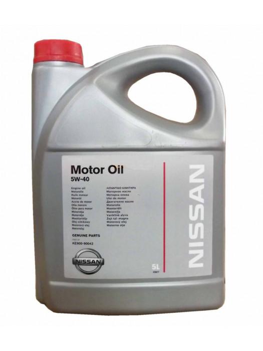 Синтетическое масло Nissan 5W-40 5 л