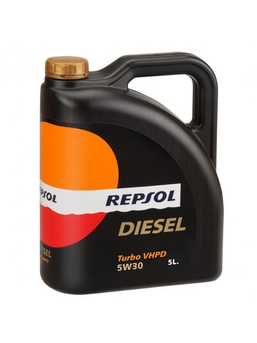 Синтетическое масло Repsol DIESEL TURBO VHPD 5W-30 5л