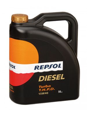 Синтетическое масло Repsol DIESEL TURBO THPD 15W-40 5л