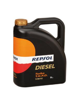 Синтетическое масло Repsol DIESEL TURBO THPD 10W-40 5л
