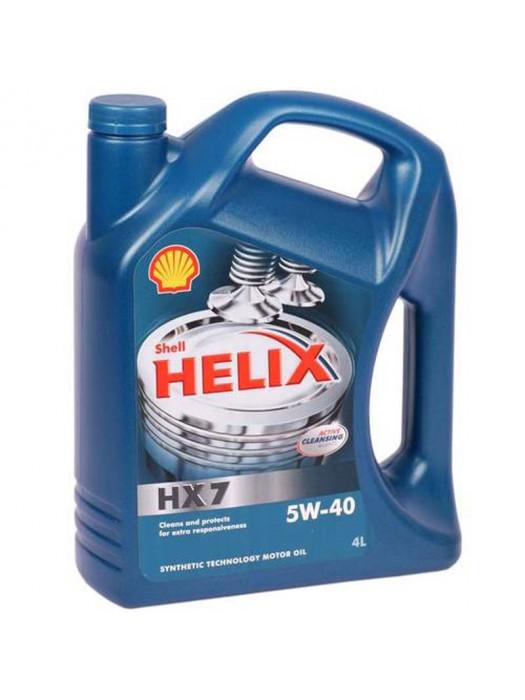 Полусинтетическое масло SHELL Helix HX7 5W-40 4 л