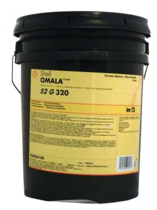 Редукторное масло SHELL Omala S2 G320, 20 л