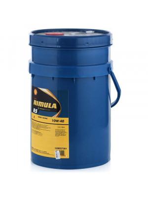 Полусинтетическое масло SHELL Rimula R5 E 20 л