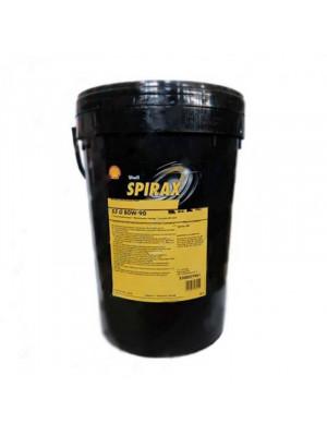 Трансмиссионное масло SHELL Spirax S3 G 80W90 GL-4 80-90, 20 л