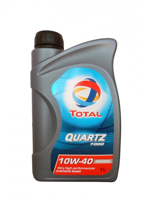 Полусинтетическое масло TOTAL Quartz 7000 10W40 1 л