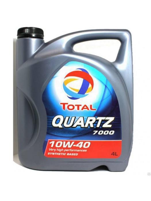 Полусинтетическое масло TOTAL Quartz 7000 10W40 4 л