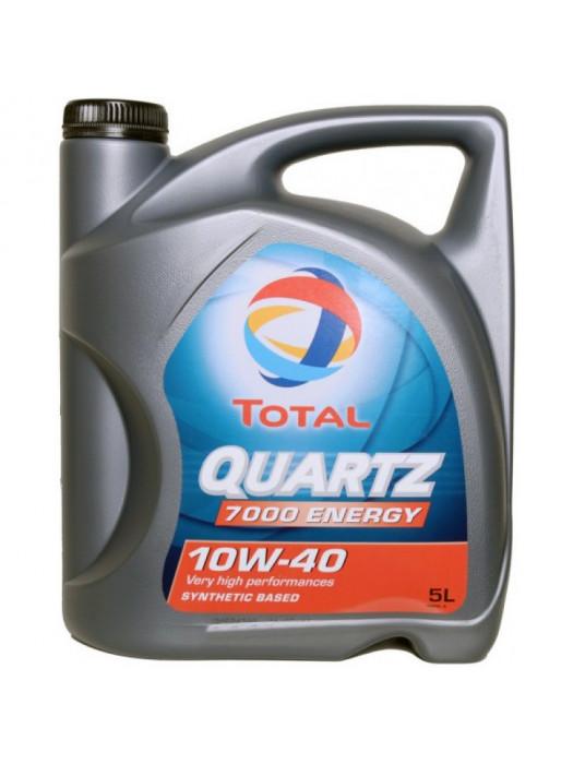 Синтетическое масло TOTAL Quartz 7000 10W40 5 л