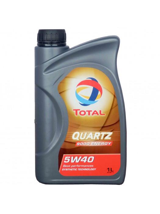 Синтетическое масло TOTAL Quartz 9000 5W40 1 л