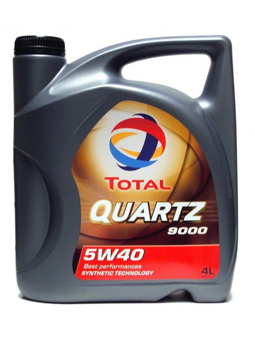 Синтетическое масло TOTAL Quartz 9000 5W40 4 л