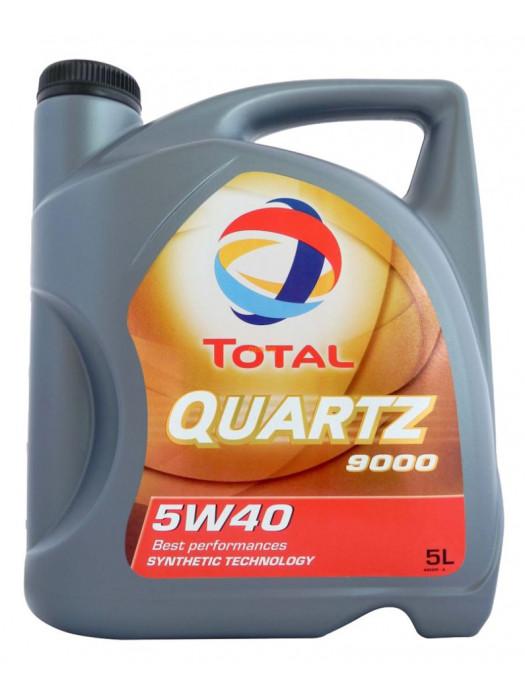 Синтетическое масло TOTAL Quartz 9000 5W40 5 л