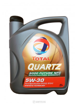 Синтетическое масло TOTAL Quartz 9000 Future NFC 5W-30 4 л