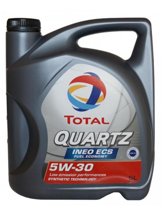 Синтетическое масло TOTAL Quartz INEO ECS 5W30 5 л