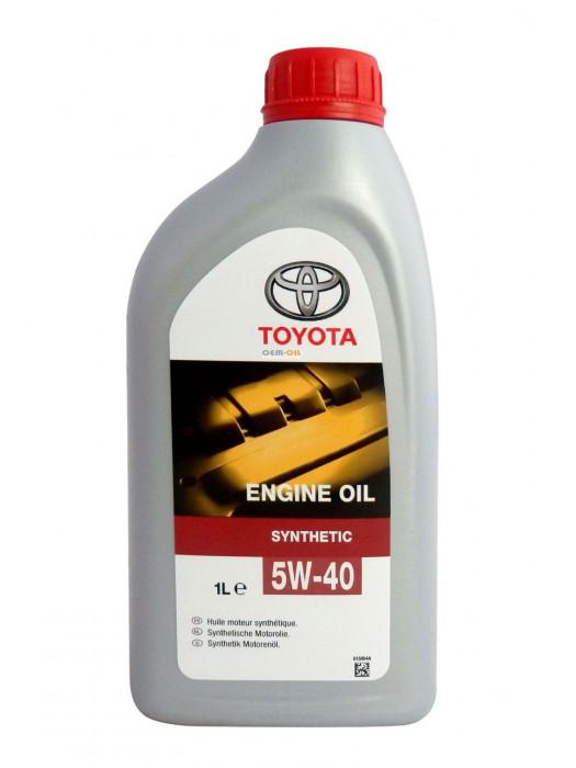 Синтетическое масло TOYOTA SAE 5W-40 1 л