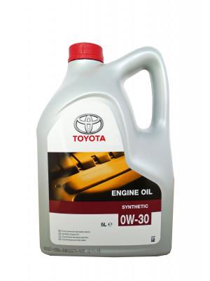 Синтетическое масло TOYOTA SAE 0W-30 5 л