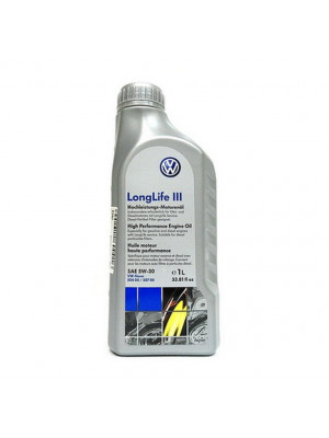 Синтетическое масло VOLKSWAGEN LongLife III 5W-30 1 л