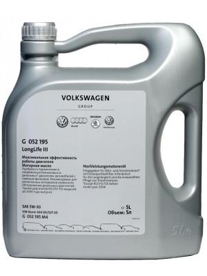 Синтетическое масло VOLKSWAGEN LongLife III 5W-30 5 л