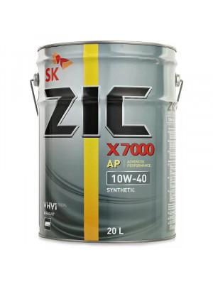Синтетическое масло ZIC X7000 AP 10W-40 200 л