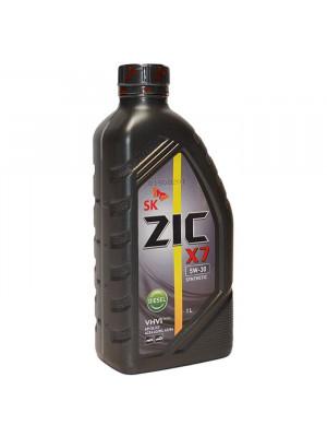 Полусинтетическое масло ZIC X7 DIESEL 10W-40 1 л