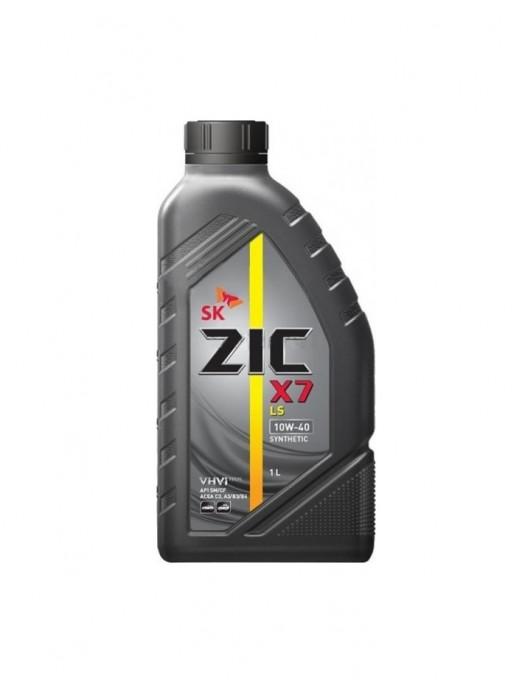 Синтетическое масло ZIC X7 LS 10W-40 1 л