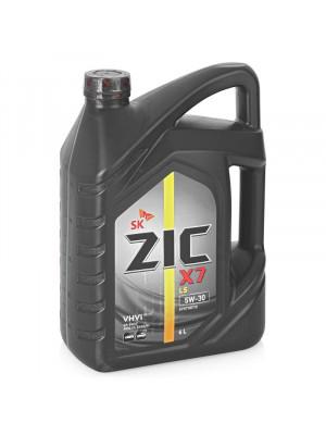 Синтетическое масло ZIC X7 LS 5W-30 4 л