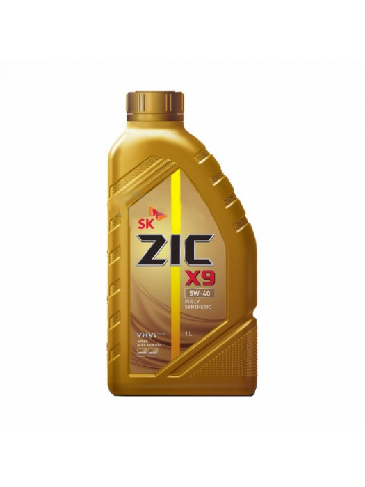 Синтетическое масло ZIC X9 5W-40 1 л