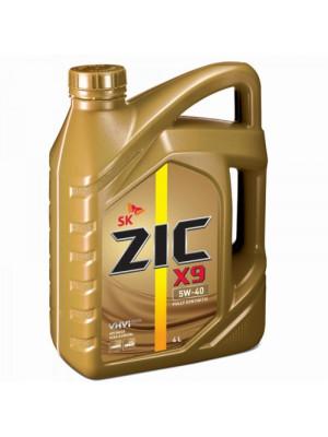 Синтетическое масло ZIC X9 5W-40 4 л